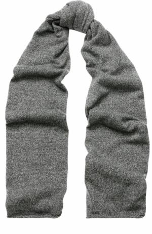 Кашемировый шарф Allude. Цвет: серый