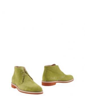 Полусапоги и высокие ботинки INGRAM. Цвет: светло-зеленый