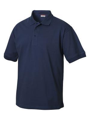 Рубашка поло Линкольн Clique. Цвет: синий