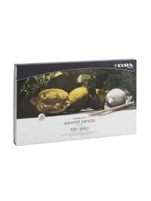 Rembrandt aquarell  Художественные карандаши акварельные 72 цв в метал коробке Lyra. Цвет: белый, черный, желтый