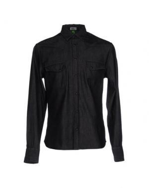 Джинсовая рубашка MACCHIA J. Цвет: черный