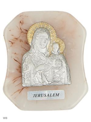 Икона Божьей Матери Bethlehem Star. Цвет: серебристый