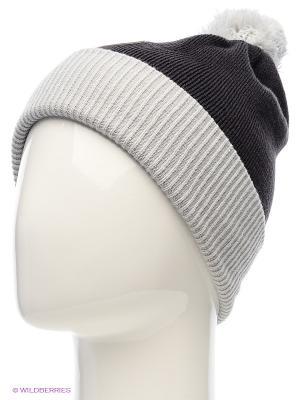 Вязаная шапка HUPPA. Цвет: черный