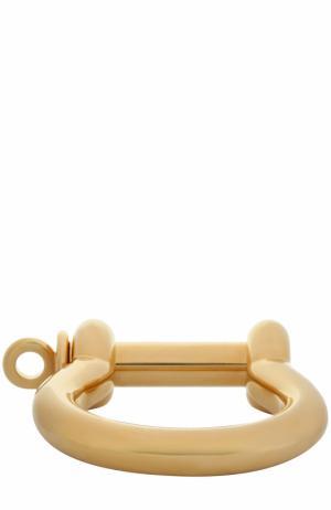 Составной браслет Balenciaga. Цвет: золотой