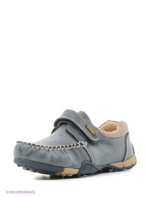 Ботинки KENKA. Цвет: серый, серо-зеленый, серебристый