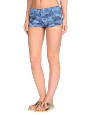 Пляжные брюки и шорты RRD. Цвет: грифельно-синий