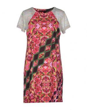 Короткое платье CUSTO BARCELONA. Цвет: фуксия