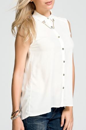 Блуза Dilvin. Цвет: белый