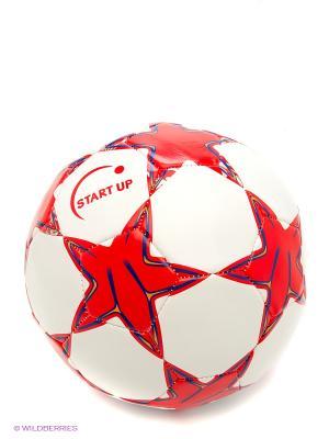 Мяч футбольный для отдыха E5126 Start Up. Цвет: красный, белый