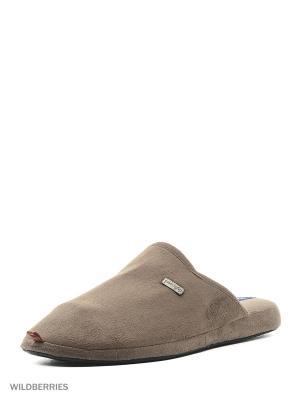 Тапочки De Fonseca. Цвет: коричневый
