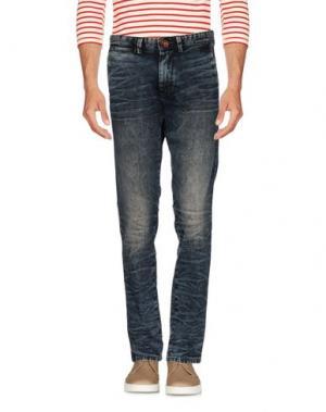 Джинсовые брюки WEB. Цвет: синий