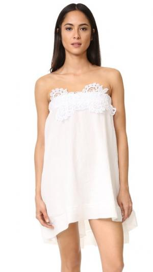 Мини-платье Brazil LILA.EUGENIE. Цвет: белый