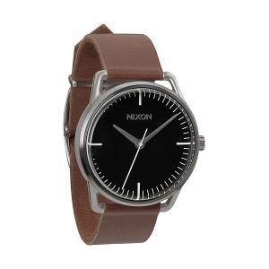 Часы  Mellor Black/Saddle Nixon