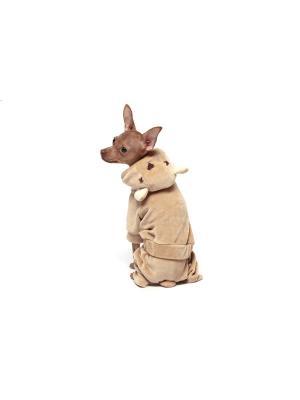 Спортивный костюм для собак Ай Да Пес. Цвет: светло-коричневый