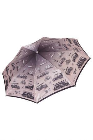 Зонт Fabretti. Цвет: бежевый