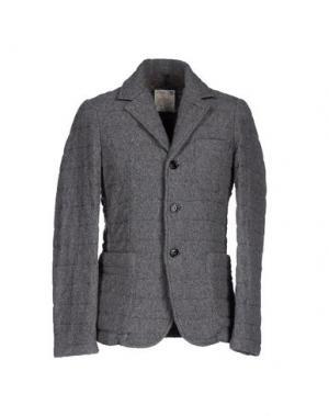 Пиджак ADHOC. Цвет: серый