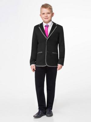 Пиджак PandaKids. Цвет: черный