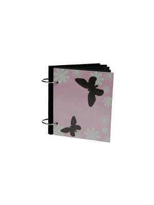 Фотоальбом Бабочки Русские подарки. Цвет: белый, черный