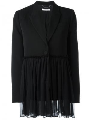 Блейзер со сборками Givenchy. Цвет: чёрный