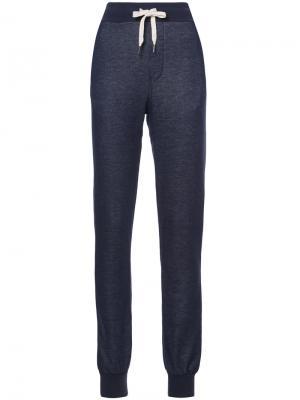 Спортивные брюки NSF. Цвет: синий