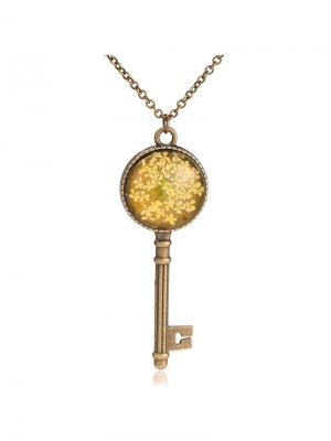 Подвеска Букет удачи Honey Jewelry. Цвет: бронзовый
