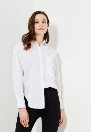 Рубашка Clabin. Цвет: белый