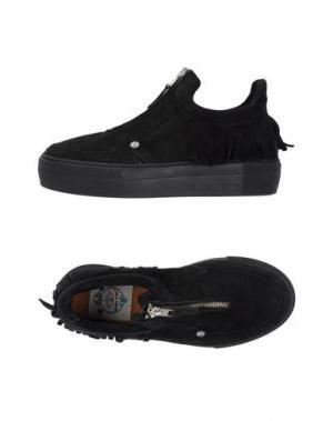 Низкие кеды и кроссовки DOLFIE. Цвет: черный