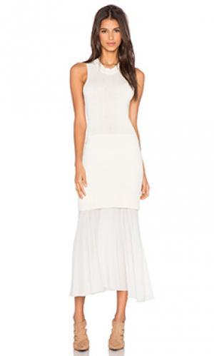 Платье olivia Maurie & Eve. Цвет: кремовый