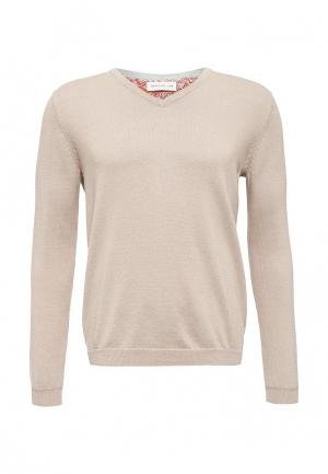 Пуловер Harris Wilson. Цвет: бежевый