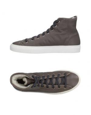Высокие кеды и кроссовки DIEMME. Цвет: серый