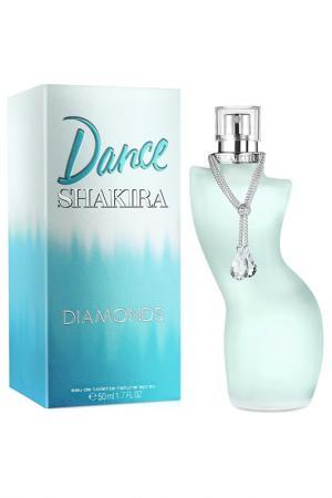 Dance Diamonds 50 мл Shakira. Цвет: прозрачный