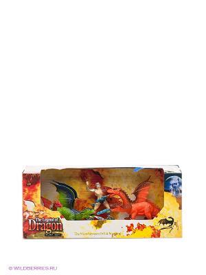 Игровой набор Драконы Happy Kin. Цвет: синий, зеленый, оранжевый