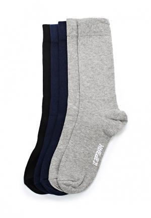 Комплект носков 5 пар Icepeak. Цвет: разноцветный