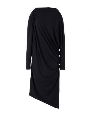 Платье длиной 3/4 LALTRAMODA. Цвет: черный