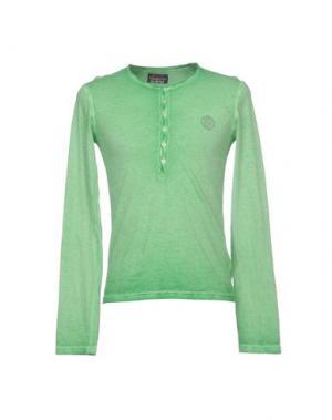 Футболка RA-RE. Цвет: зеленый