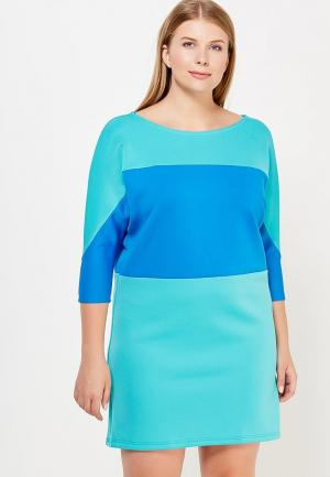Платье Moe L&L. Цвет: бирюзовый