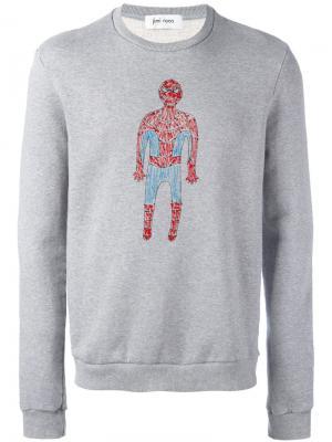 Толстовка Spiderman Jimi Roos. Цвет: серый