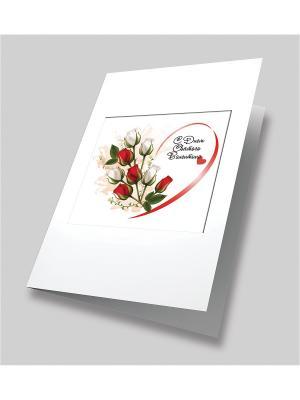 Набор для создания открытки Вестники любви Матренин Посад. Цвет: красный, белый