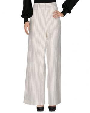 Повседневные брюки LIIS - JAPAN. Цвет: слоновая кость