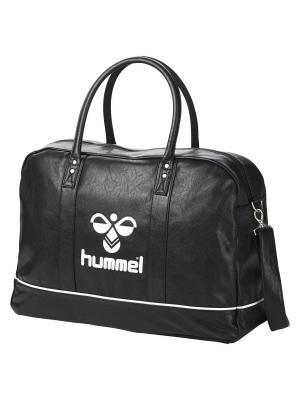 Сумка CLASSIC WEEKEND BAG HUMMEL. Цвет: черный