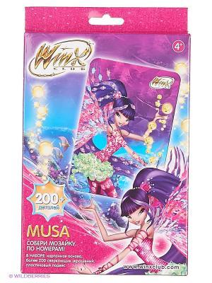 Winx Мозаика -сингл Muza Чудо-творчество. Цвет: желтый, фиолетовый, розовый