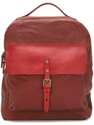 Рюкзак Ian с круговой молнией Ally Capellino. Цвет: красный