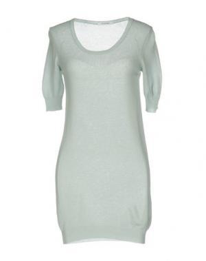 Короткое платье GENTRYPORTOFINO. Цвет: небесно-голубой