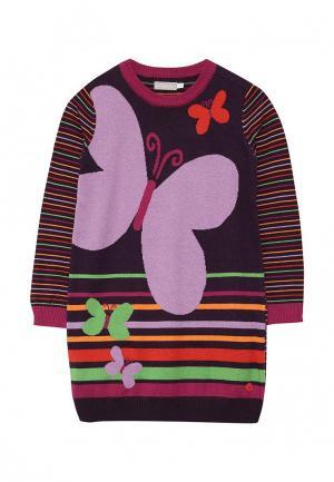 Платье Boboli. Цвет: фиолетовый