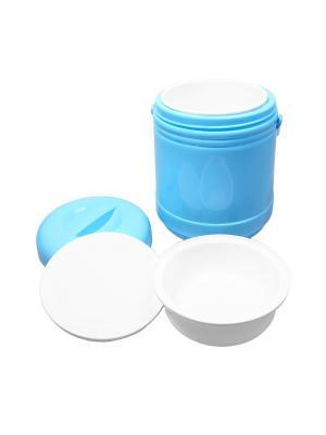 Термос для еды, 1 л. Migura. Цвет: голубой