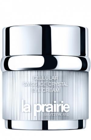 Крем для области вокруг глаз Cellular Swiss Ice Crystals Eye Cream La Prairie. Цвет: бесцветный