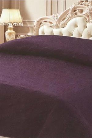 Покрывало 240x260 Jardin. Цвет: темно-фиолетовый