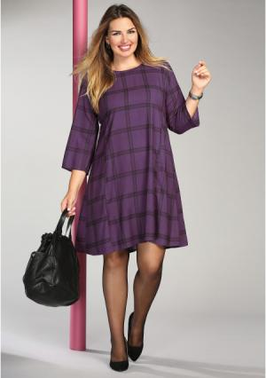 Платье Venca. Цвет: фиолетовый (розовато-лиловый)