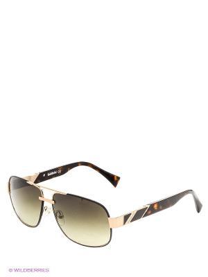 Солнцезащитные очки BLD 1416 102 Baldinini. Цвет: золотистый, зеленый