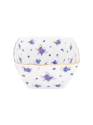 Салатник Сиреневый туман Elan Gallery. Цвет: белый, голубой, сиреневый